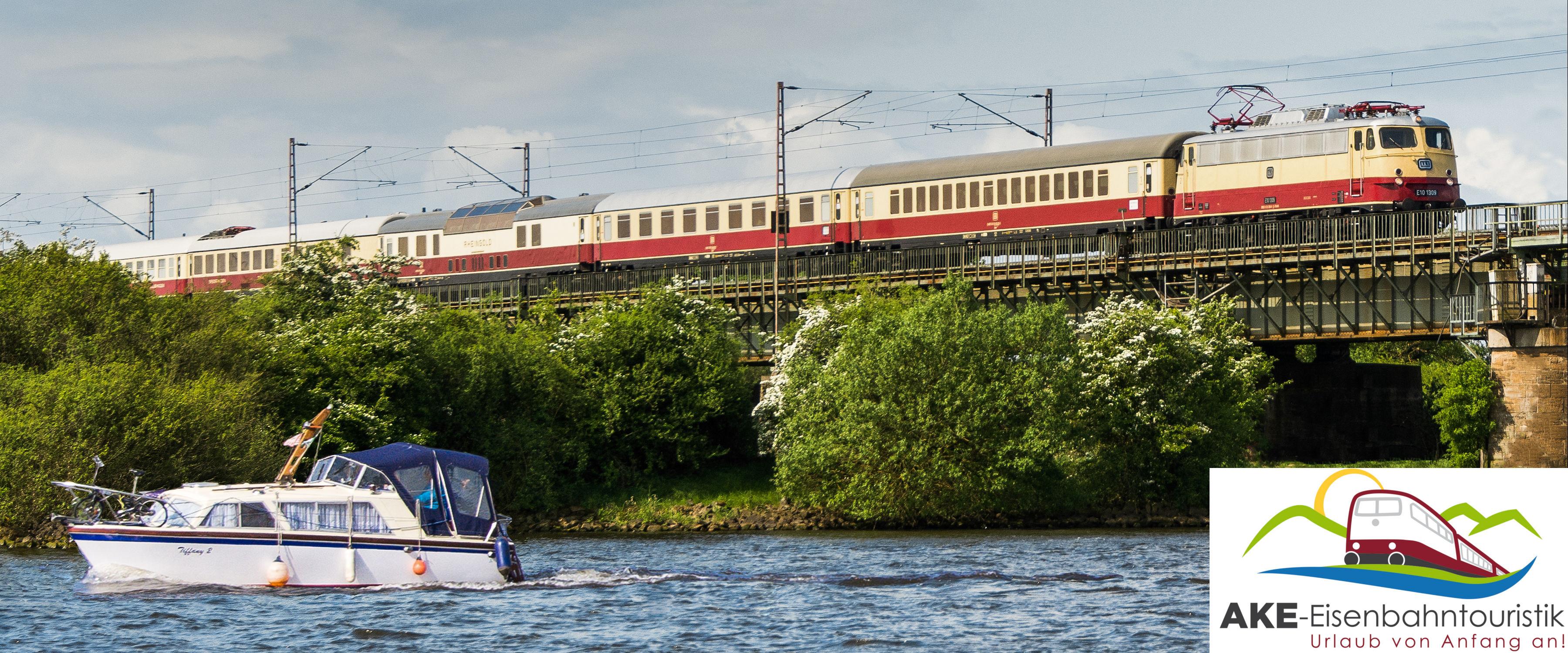 AKE-Eisenbahntouristik - Urlaub von Anfang an