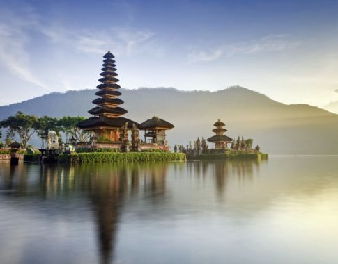Ulun Danu Tempel auf Bali