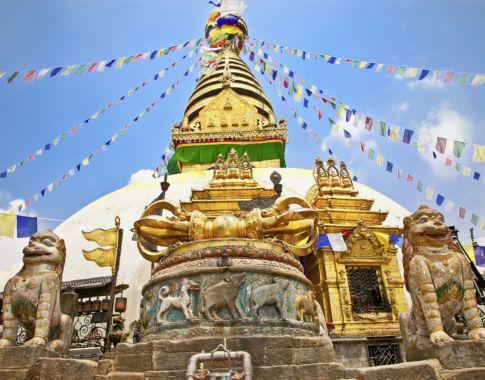 Nepal_Kathmandu, Stupa Swayambhunath_© FotoliaAleksandarTodorovic