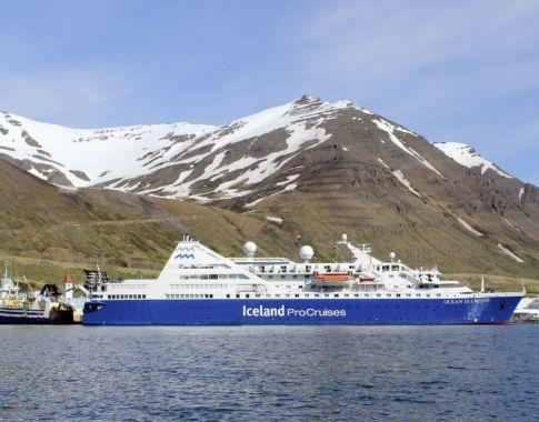 Ocean Diamond Siglufjoerdur © Iceland ProCruises