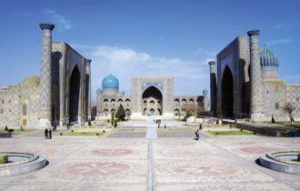 Usbekistan_Samarkand, Registan (c)fotolia_berimitsu