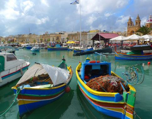Fischerboote auf Malta (c) Oasistravel
