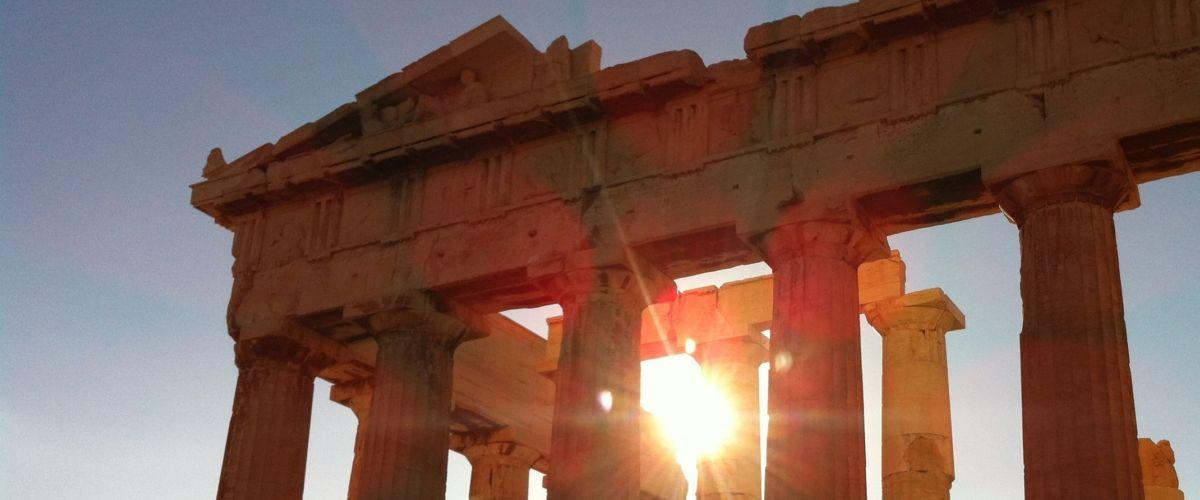 Athen Akropolis Sonne (c) Pixabay