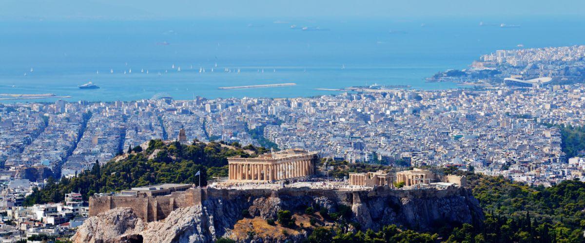 Athen Stadtblick (c) Pixabay