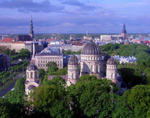 Riga Stadtansicht (c) Pixabay