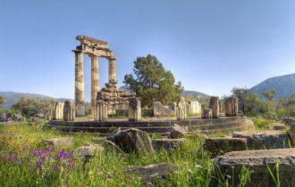 Delphi Heiligtum Athena Pronaia (c) Fotolia anastasios71