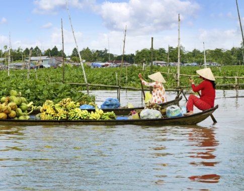 Mekong Schwimmender Markt (c) Fotolia photlook