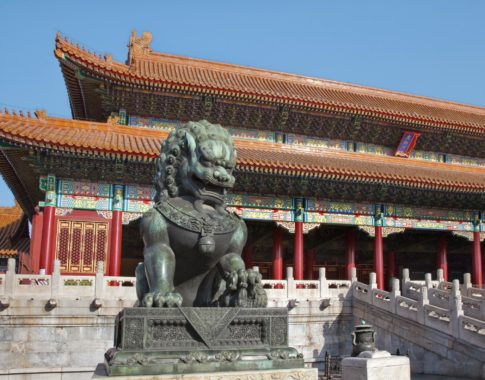 Peking Verbotene Stadt (c) Panthermedia Billperry