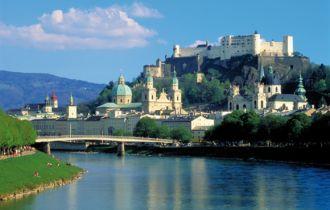 Salzburg Ansicht Sommer (c) AKE Archiv