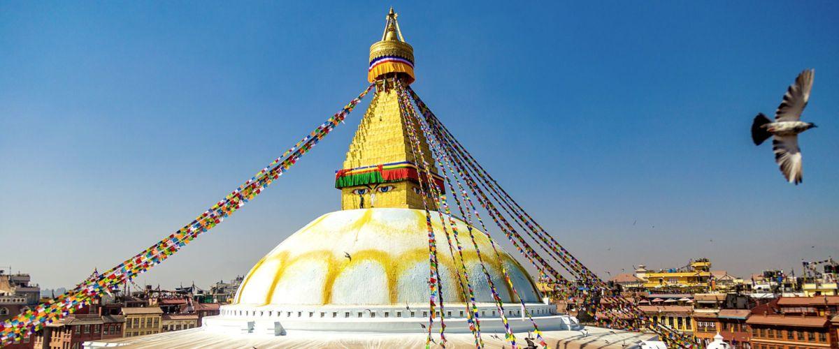Kathmandu, Tempel Boudhanath © Shutterstock VaganundoChe
