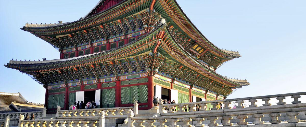 Seoul, Gyeongbokgung-Palast © Fotolia/Phattana