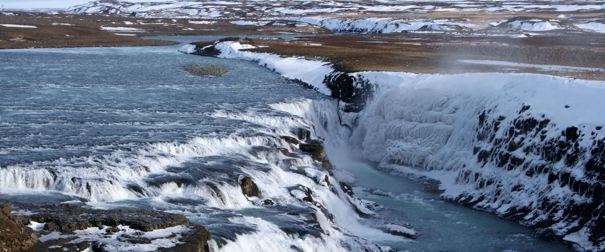 Island_Gullfoss - the golden waterfall (c) Poppe Reisen