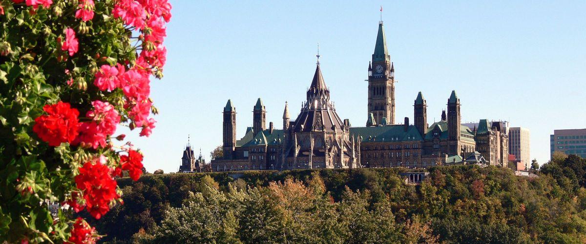 Ostkanada Ottawa Parliament Hill (c) Pixabay