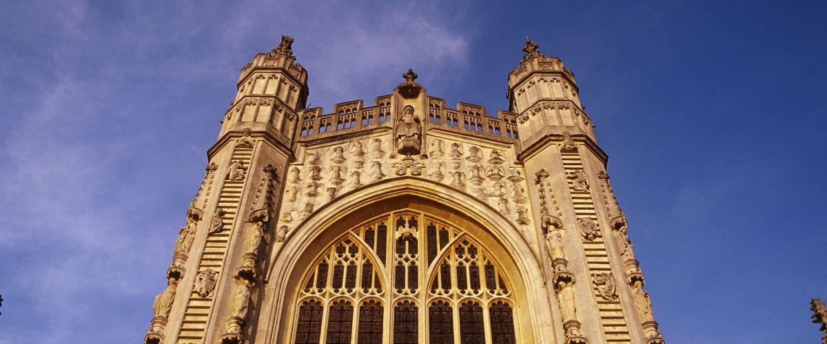 Bath Cathedral, Bath, North East Somerset, England (c) Visit-Britain Ingrid Rasmussen