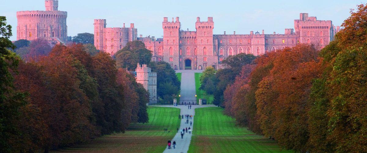 Südengland Windsor Castle at Sunset (c) Poppe Reisen