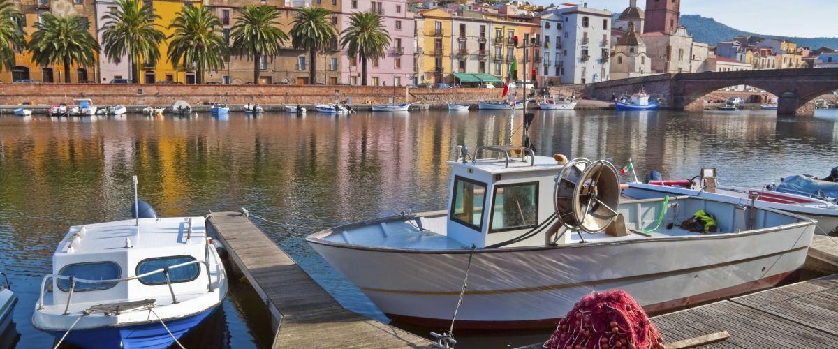 Fischerboote in Sardinien (c) Derenbach