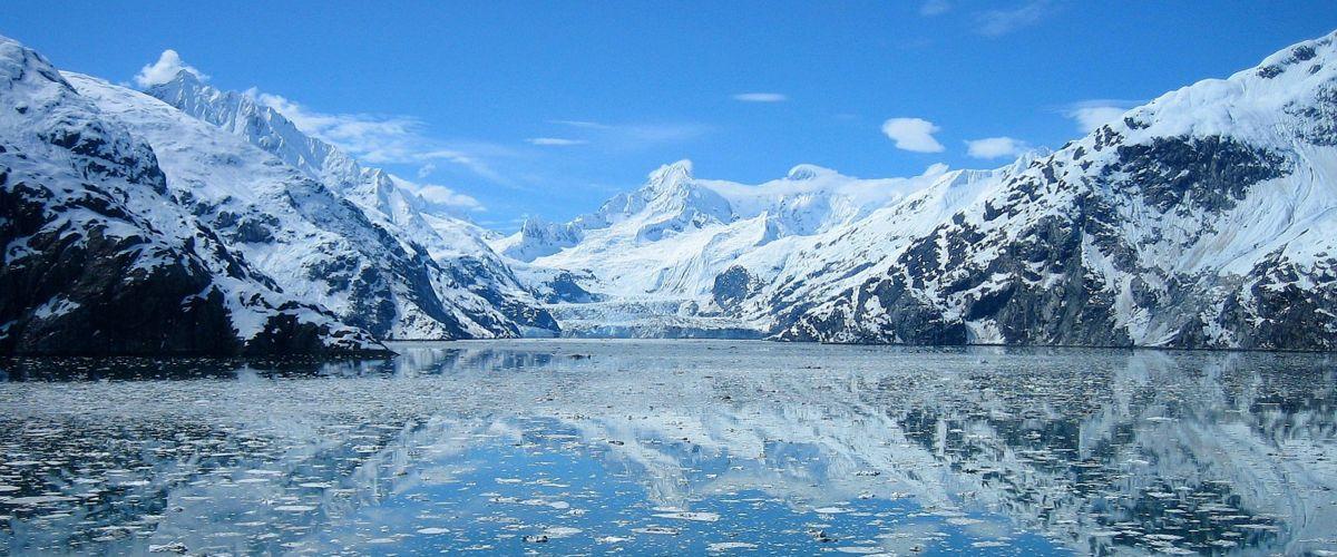 Westkanada Alaska Gletscher Bucht (c) Pixabay
