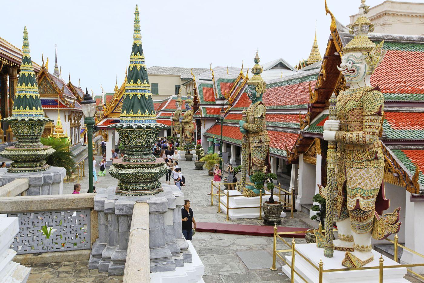 Bangkok Königspalast (c) Thiländisches Fremdenverkehrsamt