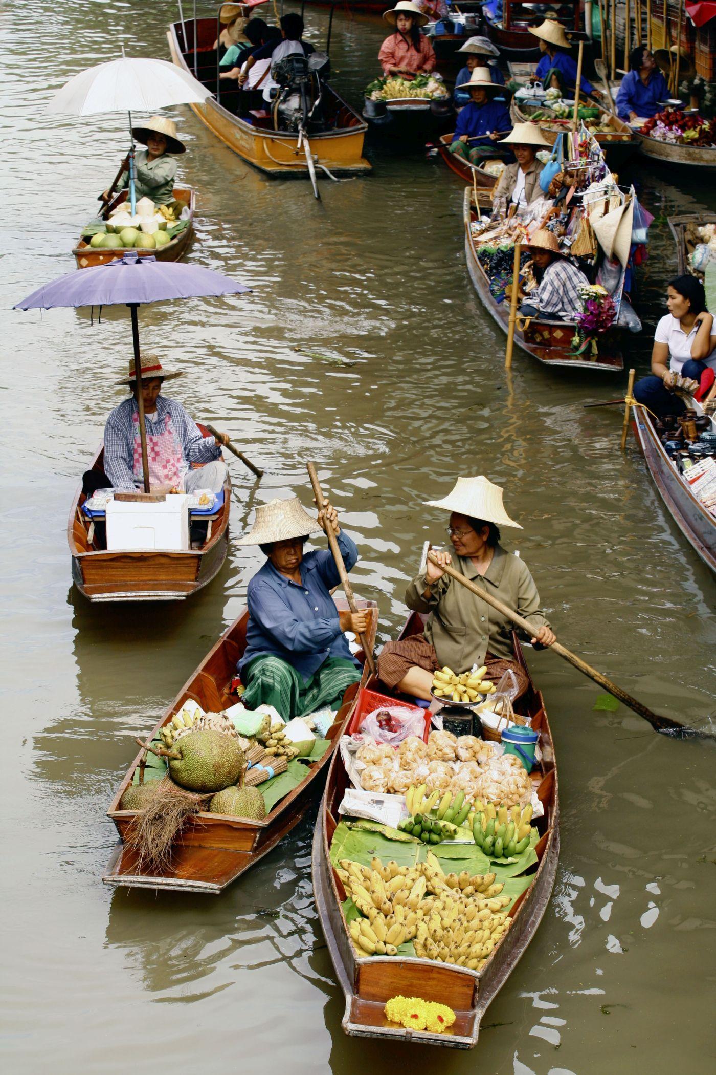 Bangkok_Auf dem Kanal (c) Marco Polo Reisen