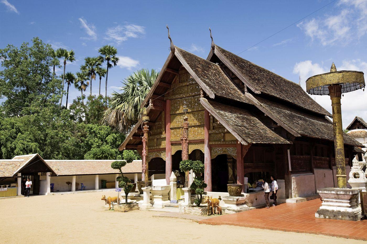 Lampang, Wat Phratat (c) Thailändisches Fremdenverkehrsamt