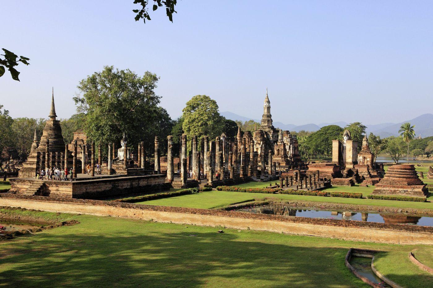 Sukhothai (c) Thailändisches Fremdenverkehrsamt