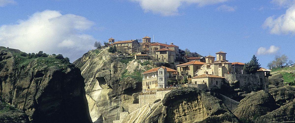 Griechenland Meteora Kloster (c) GNTO D.Rozaki