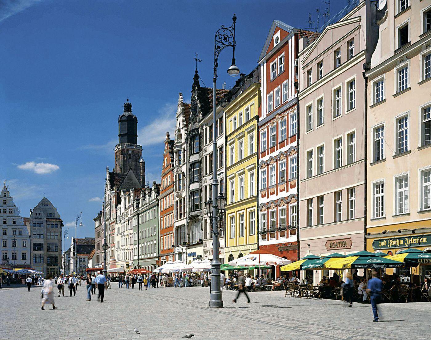 Polen Breslau Altstadt (c) Polnisches Fremdenverkehrsamt