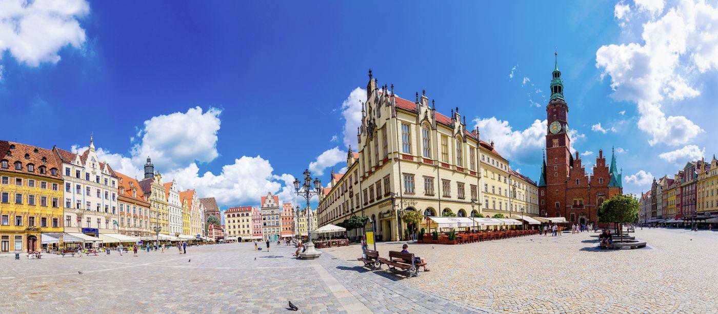 Polen Breslau Altstadt (c)Fotolia Sergii Figurnyi