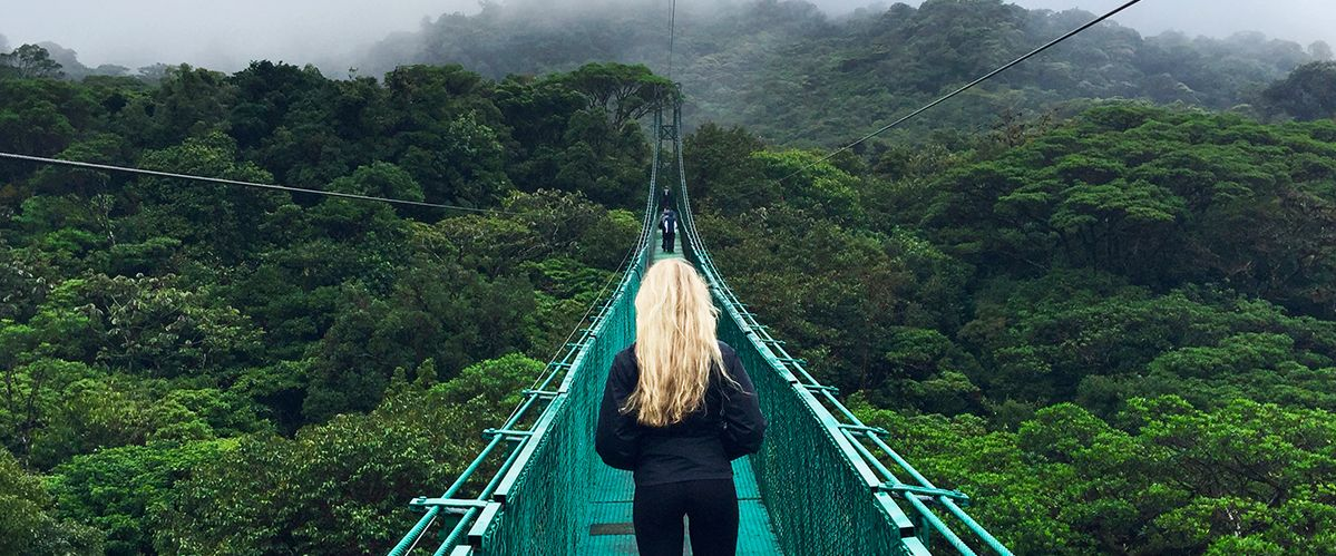 Costa Rica - Monteverde Hängebrücken Costa Rica © Reisewelt Teiser & Hüter GmbH