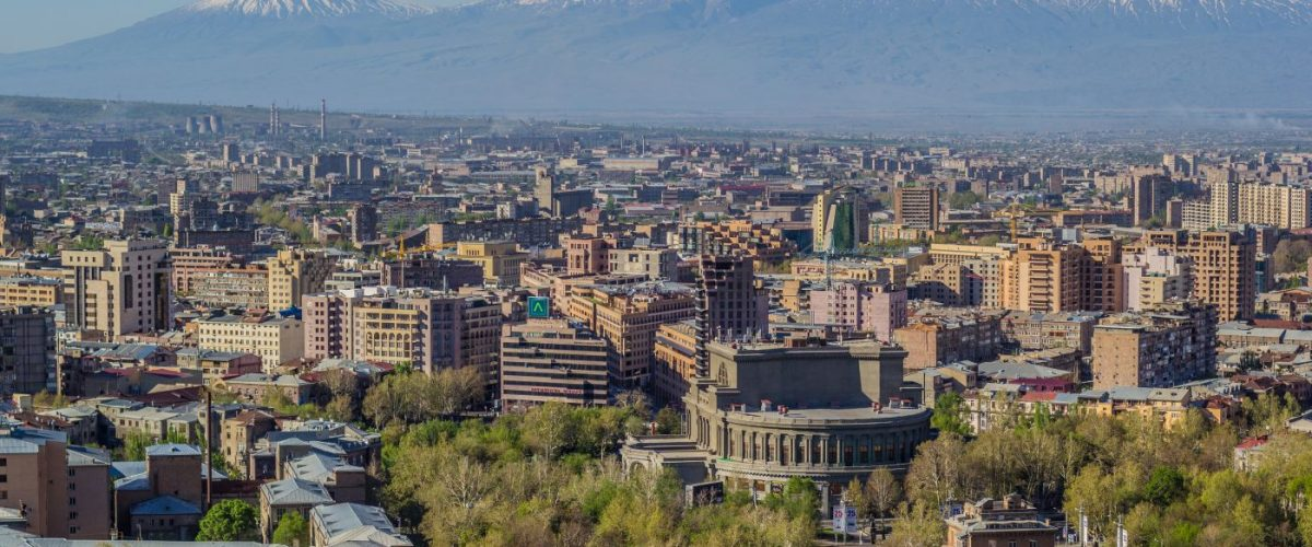 Mount Ararat and the Yerevan skyline (c) Herrgottsgarten