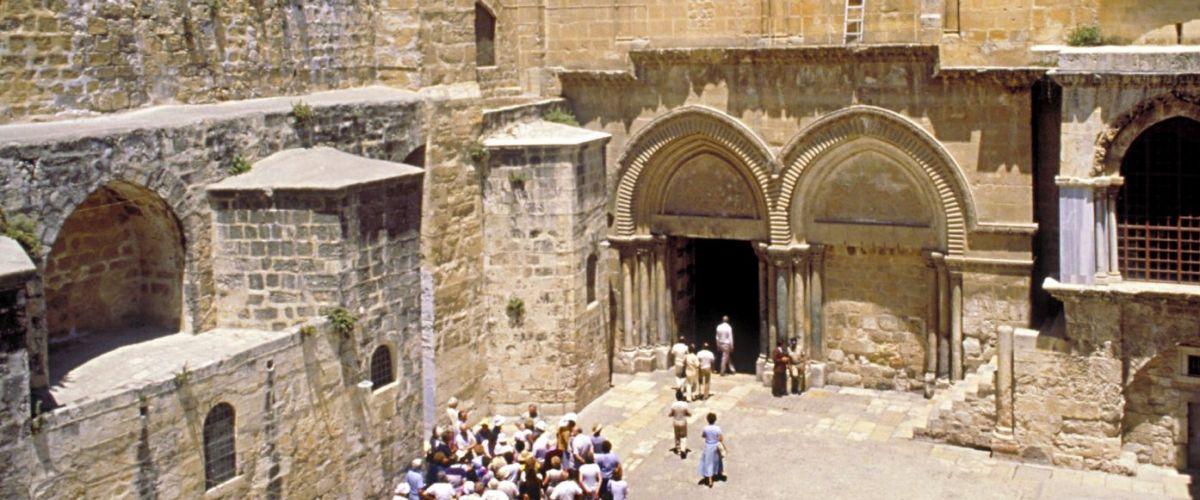 Jerusalem Grabeskirche (c) Staatl. Israelisches Verkehrsbüro