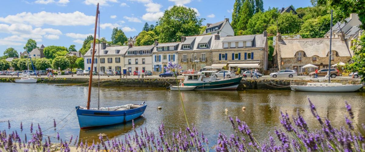 Bretagne_Pont-Aven_Hafen (c) Globalis Erlebnisreisen