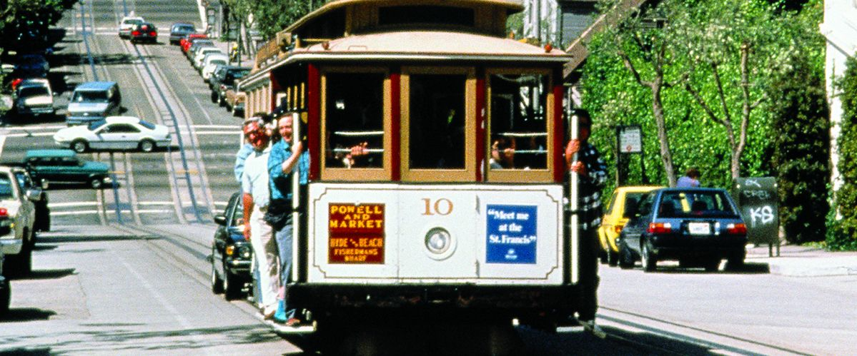 San Francisco - Cable Car with Alcatraz © Reisewelt Teiser & Hüter GmbH