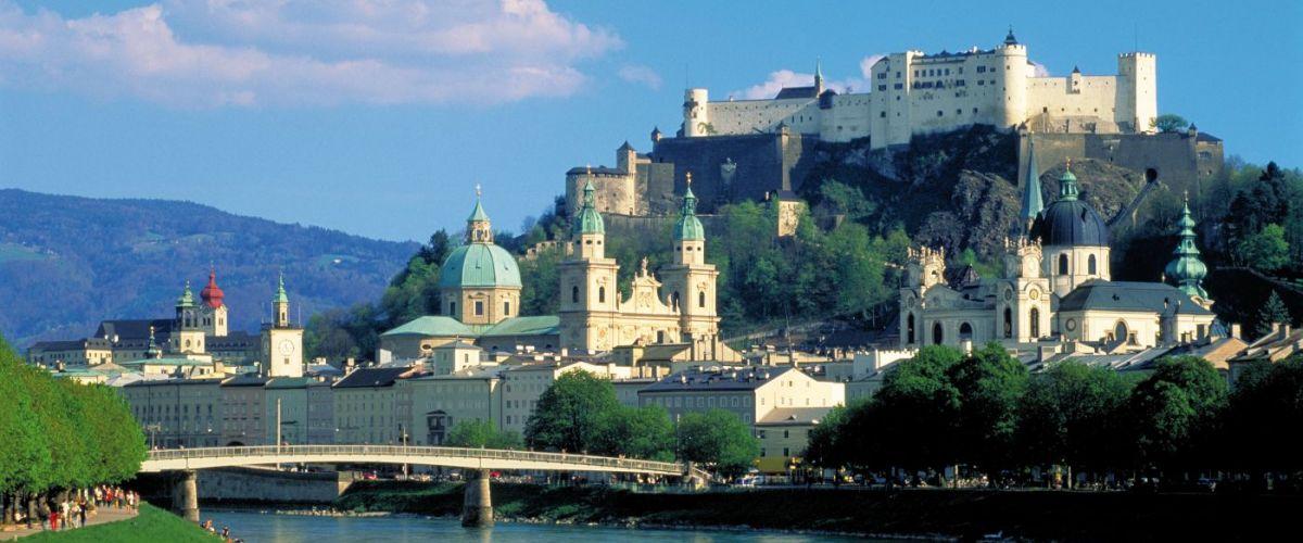 Salzburg Ansicht Sommer