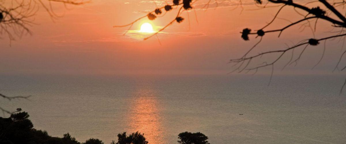 Gargano -Peschici al tramonto
