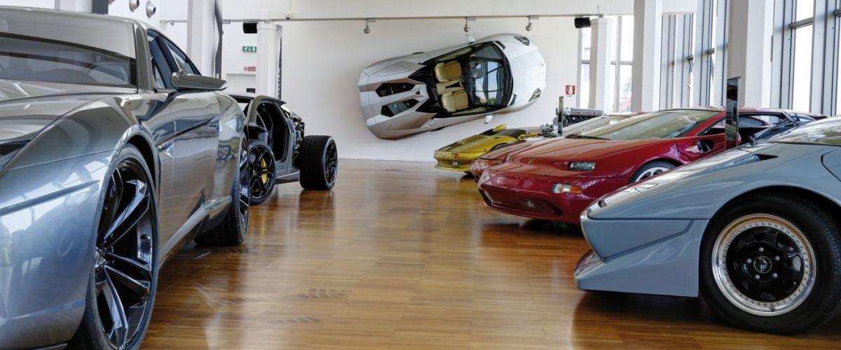 foto museo Centro Eccellenza Lamborghini dopo modifiche disposiz (c) Mondial Tours