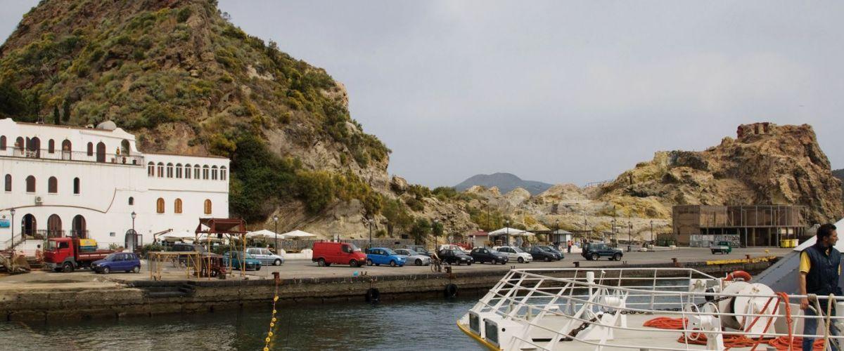 Isola di Vulcano .Porto di Levante