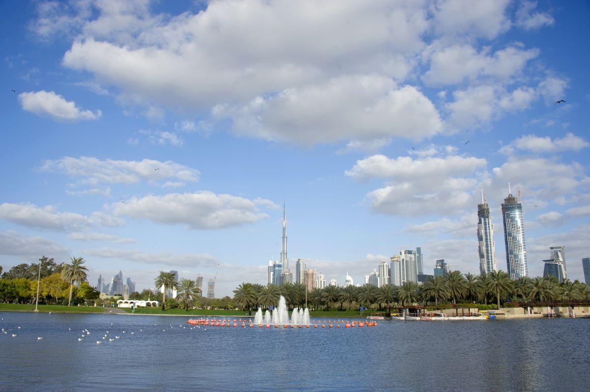 N Blick auf das neue Dubai Freigabe DTCM
