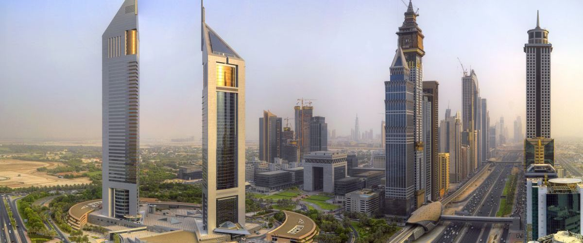 N Sheikh Zayed Road und Emirates Towers02 Freigabe DTCM kleiner
