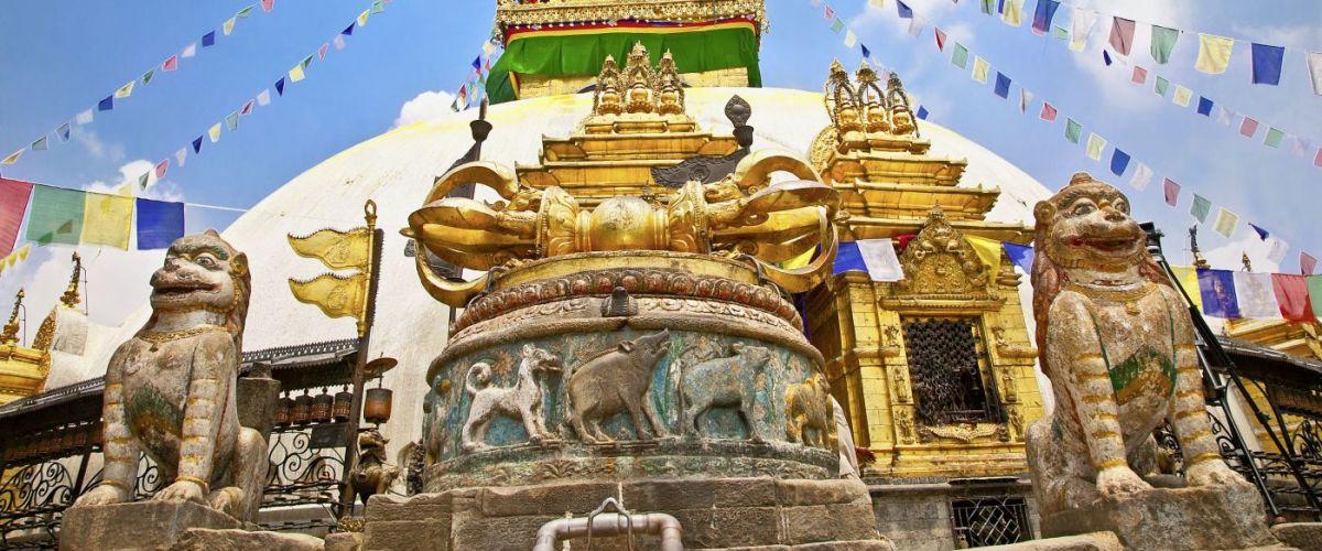 Kathmandu Stupa Swayambunath (c) Fotolia Aleksandar Todorovic