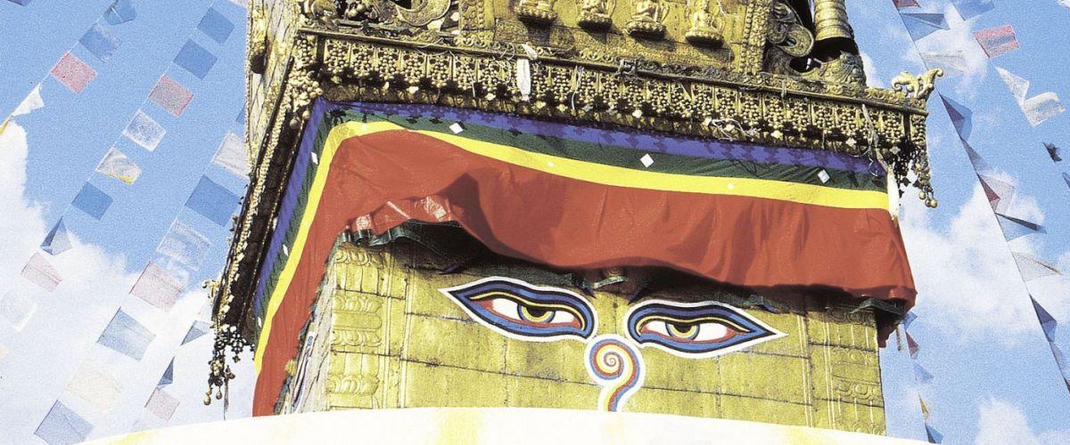 Kathmandu Stupa Swayambunath(c) Marco Polo Reisen