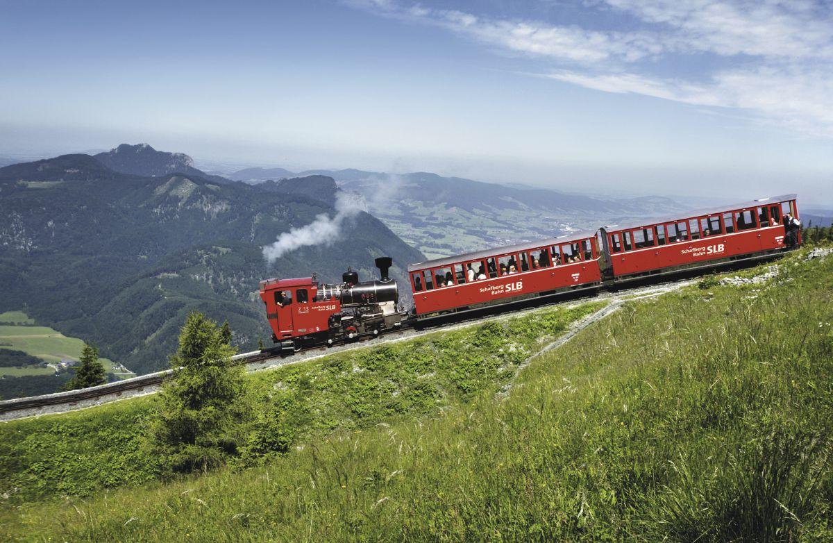 SchafbergBahn – Neubau-Dampflokomotive ©SchafbergBahn und WolfgangseeSchifffahrt