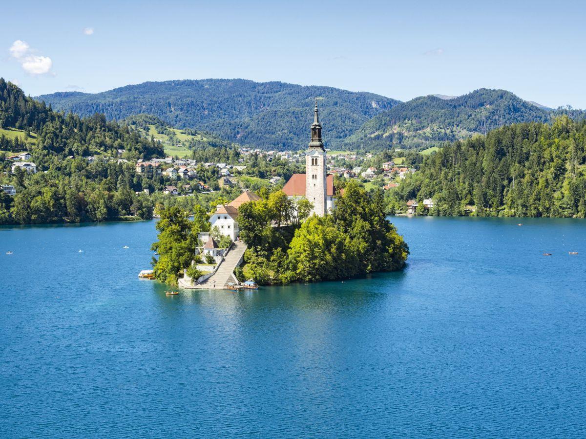 Lago di Bled ( Slovenia )