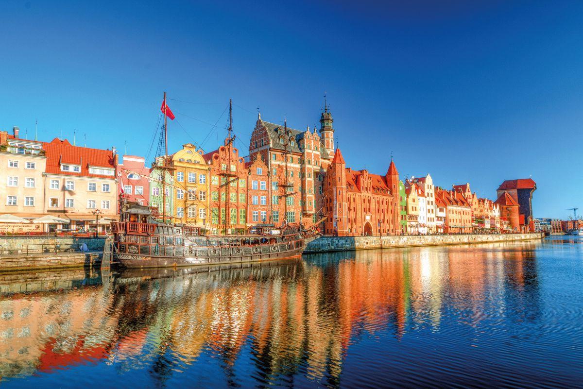 Gdansk in sunny day