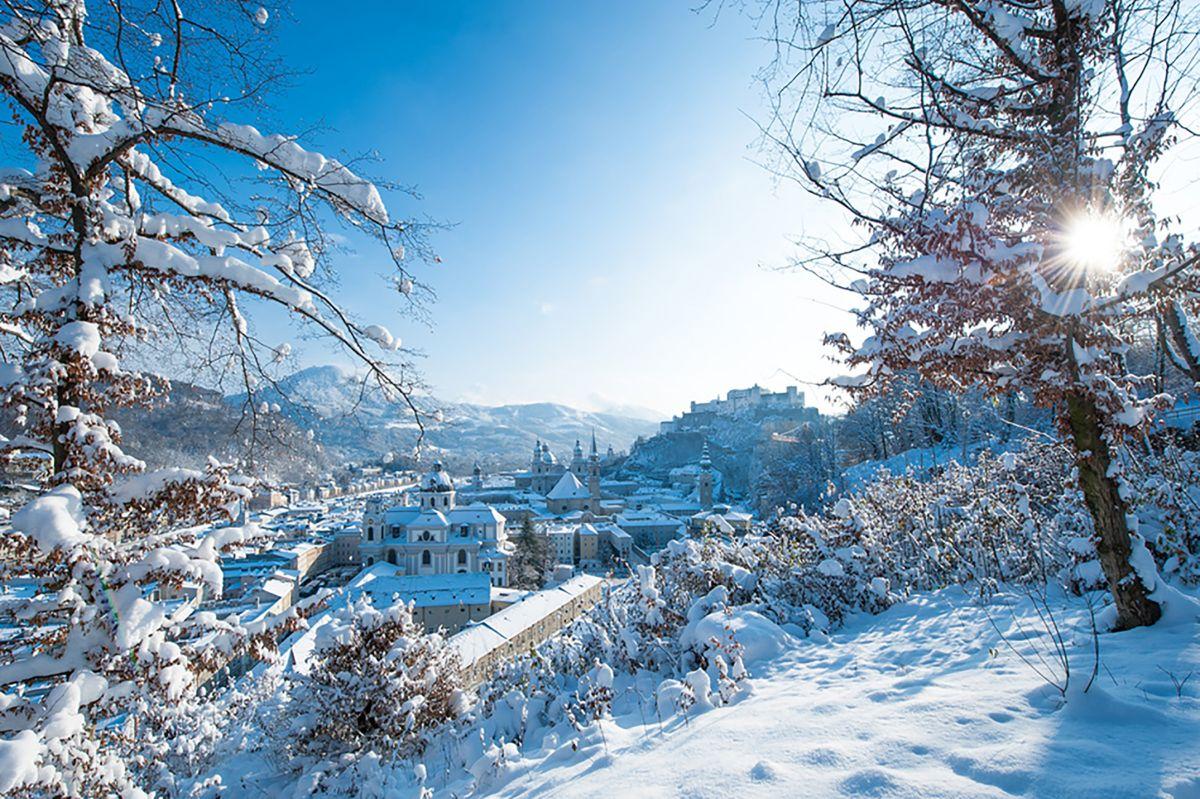 Salzburg im Winter©Tourismus-Salzburg