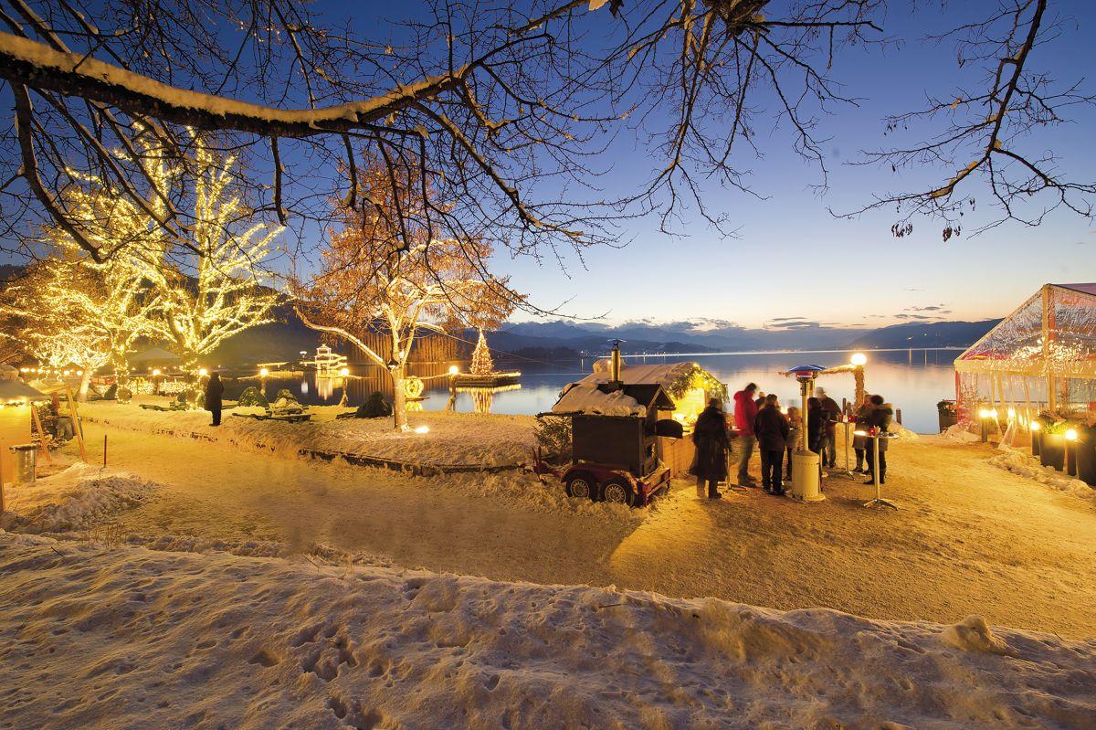 1742 - Weihnachtsmarkt Pörtschach am Wörthersee ©Kärnten Werbung, Franz Gerdl