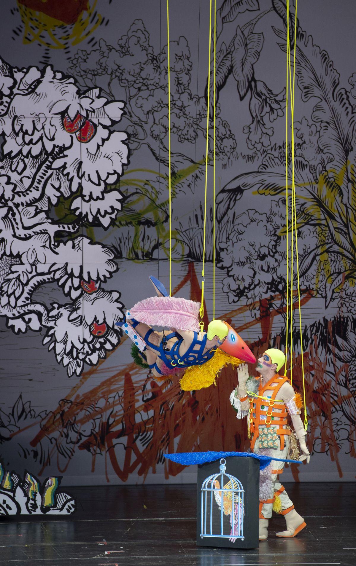 Berlin Staatsoper Zauberflöte Yuval Sharon 2 (c) Monika Rittershaus