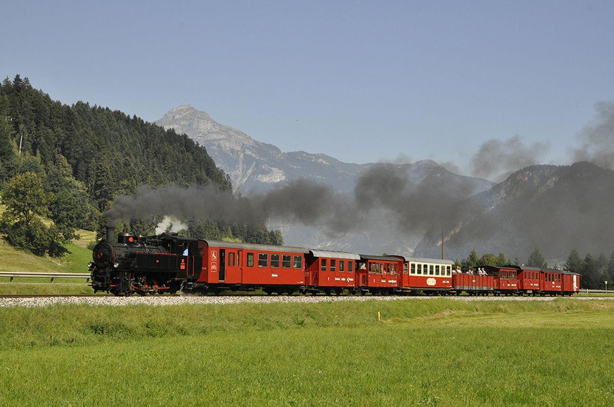 Foto-Zillertalbahn-Dampfzug-Fuegen ©Zillertaler Verkehrsbetriebe-Denoth