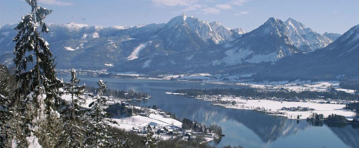 Winter am Wolfgangsee-©Wolfgangsee-Tourismus-Gesellschaft