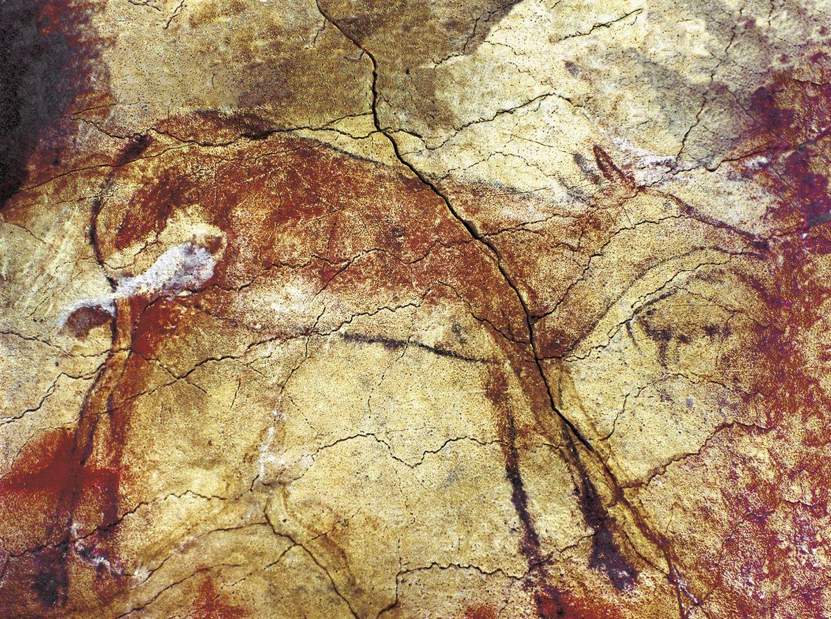 Altamira, Höhlenzeichung © Turespaña München